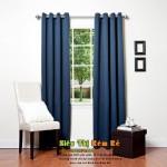 Rèm cửa vải xanh 079